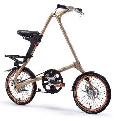 STRIDA  EVO 18寸 折叠自行车单车 玫瑰金