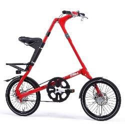 STRIDA 18寸SX速立达 折叠自行车 大红色