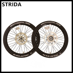 STRIDA18吋輪組SX鋼絲輪一車份自行车配件
