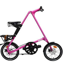 STRIDA 16寸LT 折叠自行车 湖水绿